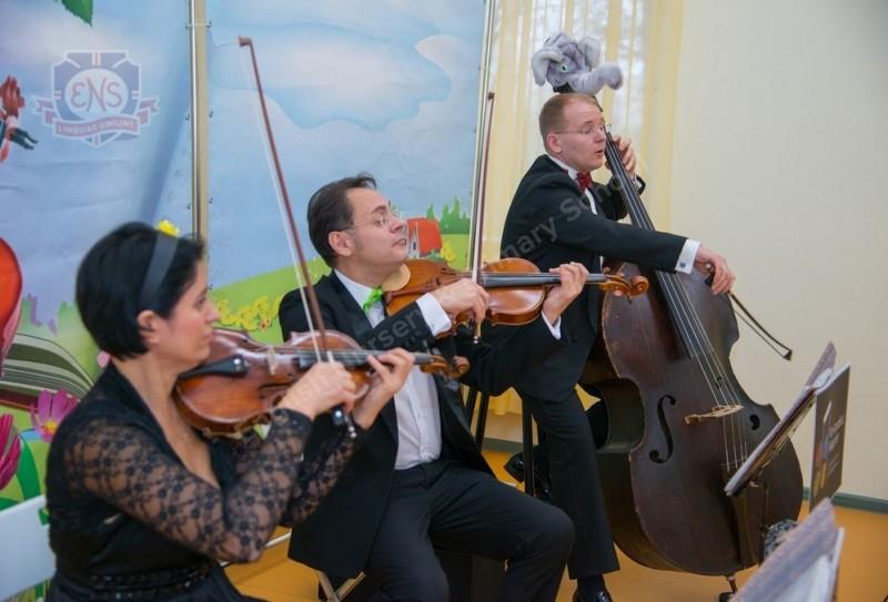 Концерты «Квартет-Контрабас» в ENS