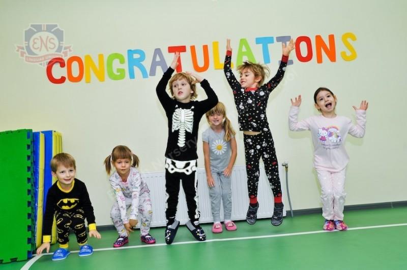 Пижамная вечеринка малышей в ENS Новохорошевский