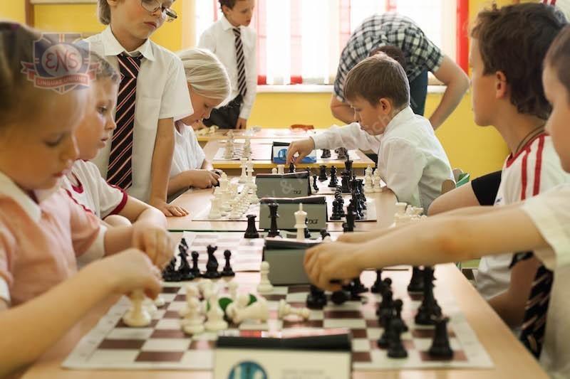 Шахматный турнир в ENS Онегино
